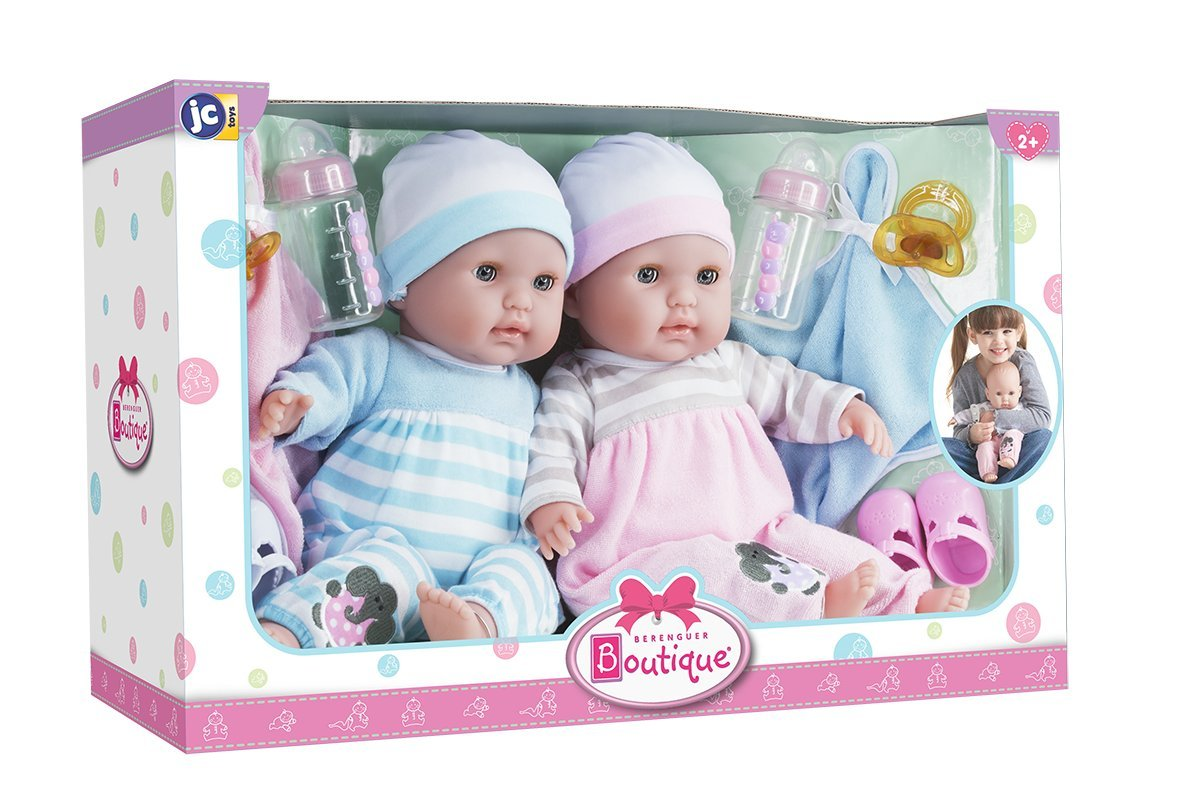 Toys For Twins : Boutique twins quot soft body realistic baby dolls open