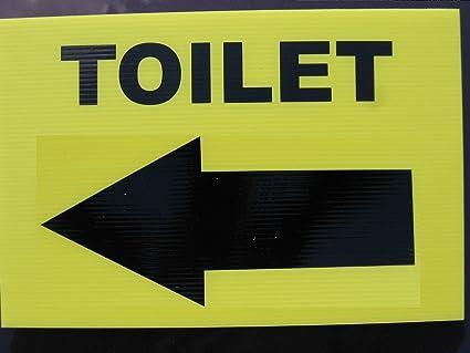 1:1 - baño con tibieza - señales de Dirección flecha: Amazon ...