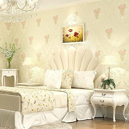 Wapel Wallpaper European Style Non-Woven Fabrics Warm Master ...