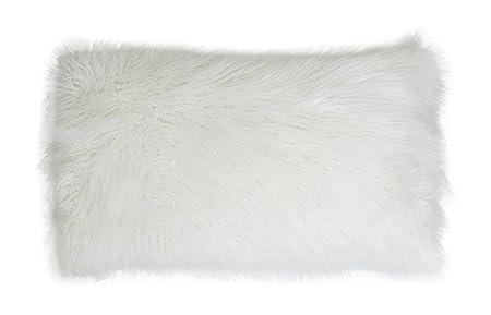 Thro by Marlo Lorenz TH012335001E Keller Faux Mongolian Reverse to Micromink Pillow