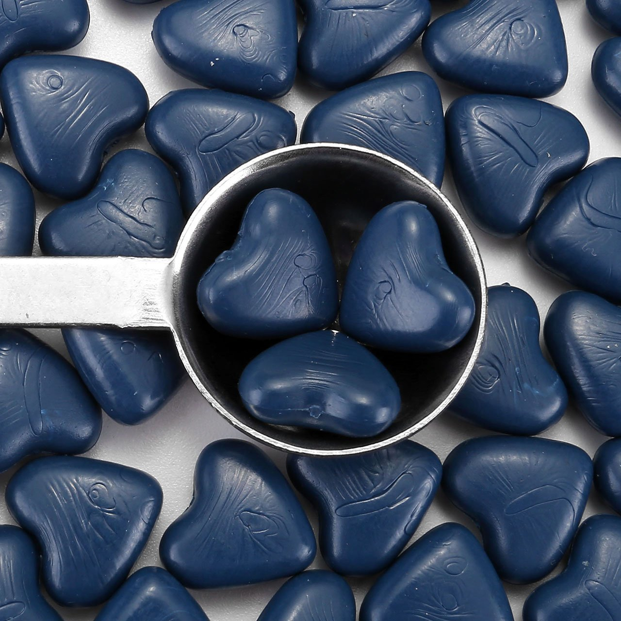 Bronze Mogoko Siegellack Perlen Herzart Europ/äische Retro Siegelwachs Perlen-Set mit 1 St/ück Wachs Schmelzen L/öffel und 2 St/ück Kerzen f/ür Umschlag Briefkopf Geschenkset