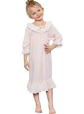 Amazon.com: Orcite - Pijamas de princesa para niñas pequeñas ...