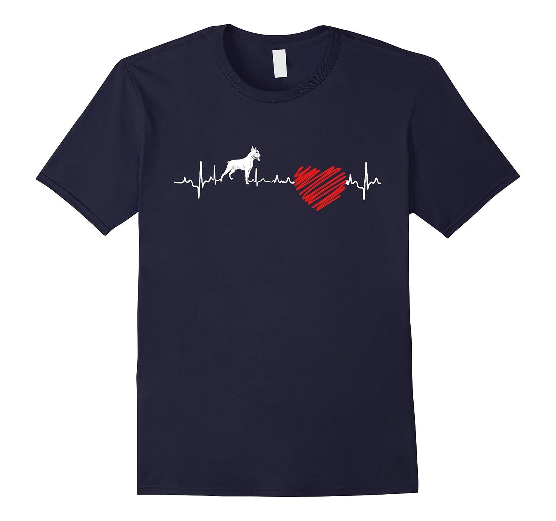 Boxer Heartbeat T-Shirt-RT