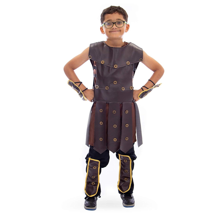 Boo! Inc. Mighty Warrior Disfraz de Halloween para niño | héroe ...