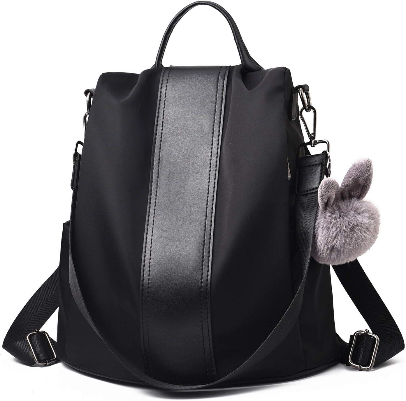 Charmore Damen Rucksack Wasserdichte Nylon Schultasche Anti Diebstahl Daypack Schultertasche Leichtgewicht Reiserucksack: Amazon.de: Koffer -