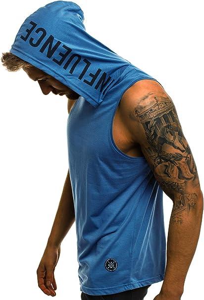 OZONEE Herren Tank Top Tanktop Kapuze Tankshirt /Ärmellos Bodybuilding Shirt Unterhemd T-Shirt Tshirt Tee Muskelshirt Achselshirt Tr/ägershirt /Ärmellose Training O//2537X
