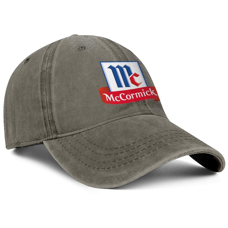 WintyHC McCormick Logos Cowboy Hat Bucket Hat Adjustable Fits Gas Cap
