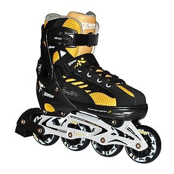 Tempish Imax - Patines en línea para niños, extensibles, con ruedas ABEC7, talla S (29 a 32), aluminio, color negro: Amazon.es: Deportes y aire libre
