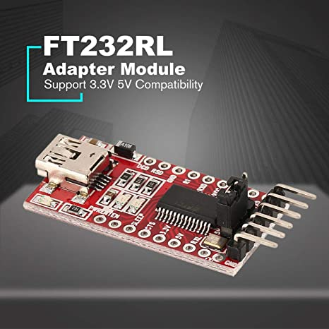 1PC USB to TTL FT232RL FTDI Serial Adapter Converter Module for Arduino Mini 3.3