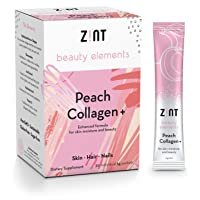 Zint Sweet Marine Collagen Powder Beauty Drink Mix (Peach): Sugar-Free Collagen...