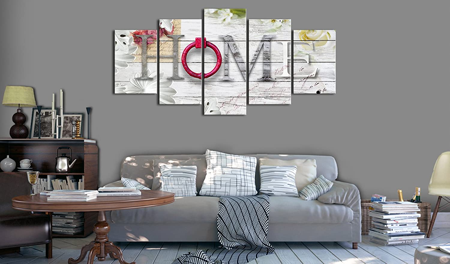 Dreamy Home Canvas Painting Modern Picture Print Wall Art Decoration 40 W x 20 H