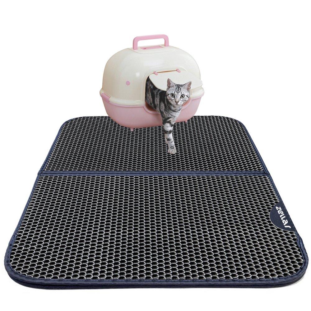 Chat Pisse Tapis Salle De Bain ~ tapis de liti re pour chat zellar double couche en nid d abeille