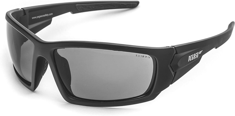 OPTOR 126.99.530 Gafas de Seguridad, Negro, L