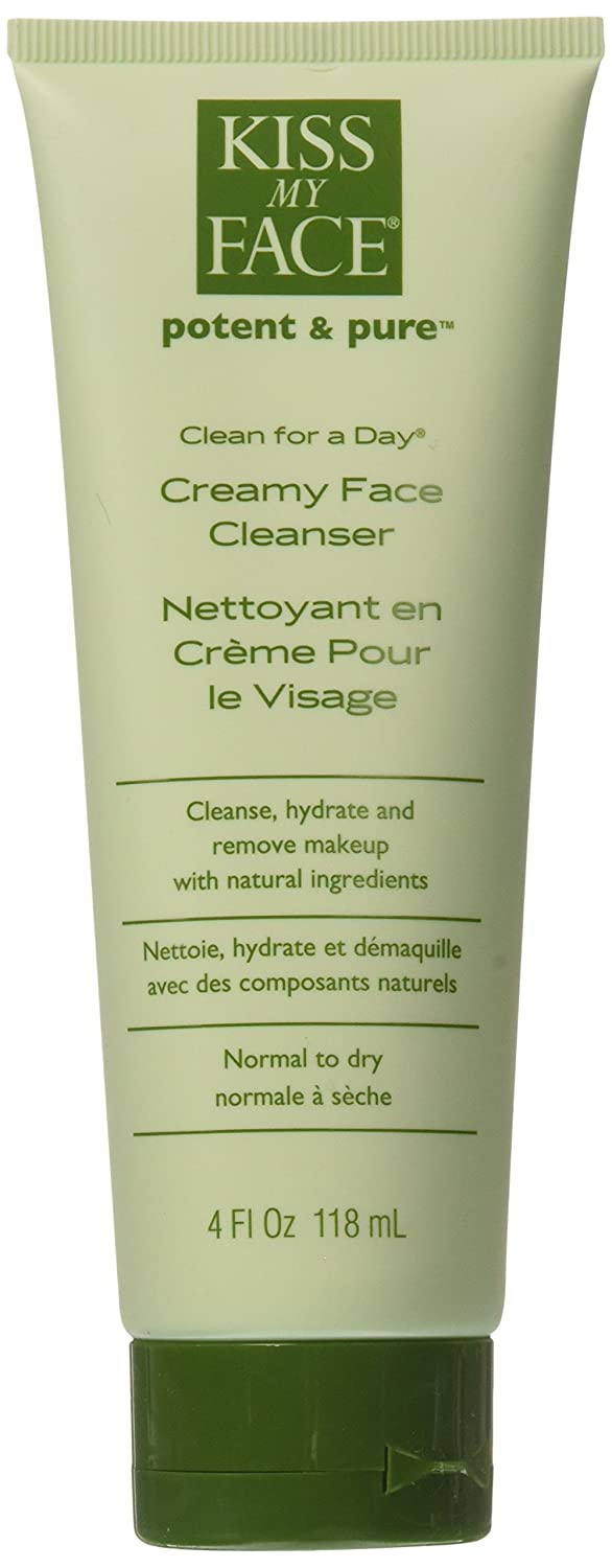 Kiss My Face - Clean For A Day Creamy Face Cleanser, 4 Fl Oz Liquid UNFI - Select Nutrition 1200401