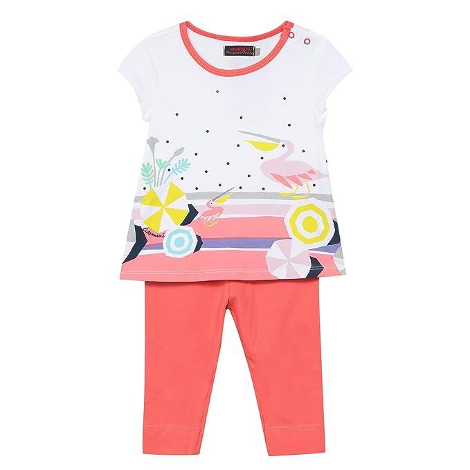 Catimini - Pijamas enteros - para bebé niña blanco Blanc (Blanc)