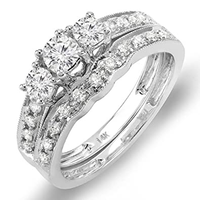 Wedding Rings Bands Sets