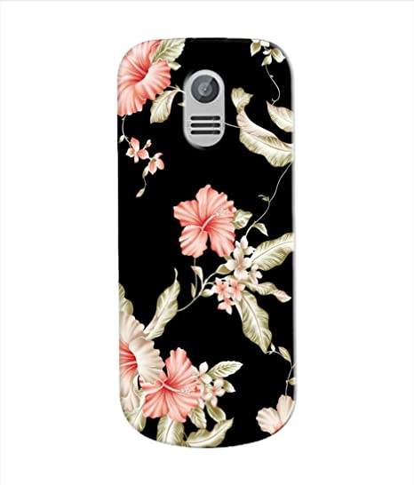 huge selection of 87658 ae506 Kaira Printed Designer Soft Silicon Back Case Cover for Nokia 130 (2017)  (blackflower)