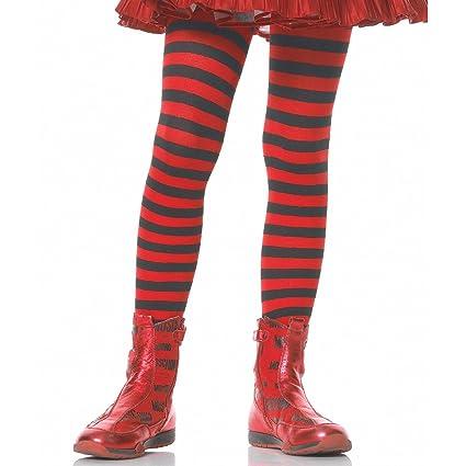 88efe9393d9 Amazon.com  Leg Avenue s Children s Striped Tights