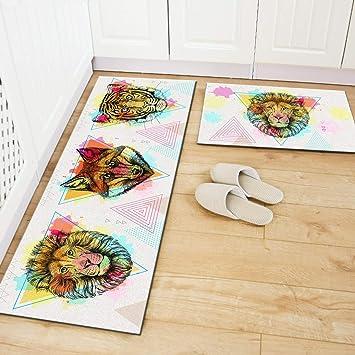 1x Mat Doormat Antique Floor Runner Rug for Bedroom Living Room 40x120cm