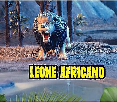 Bustina LEONE AFRICANO maxi Animali PREDATORI DELLA GIUNGLA 2020