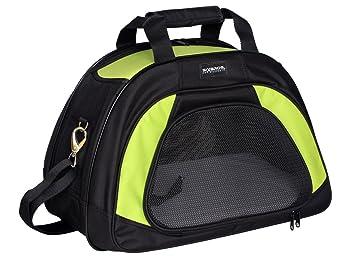 Bolso de transporte Bolso para perros & gatos Verde/Negro - 10041/