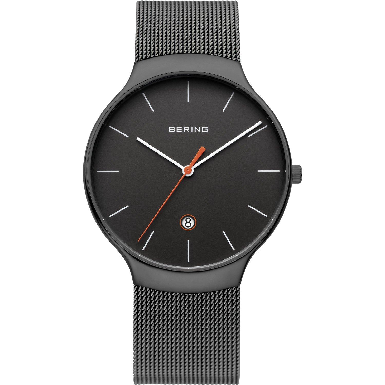 Bering Unisex-Armbanduhr Analog Quarz Edelstahl 13338-077
