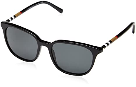 48c39ea8ae4 Burberry Women s Anti-reflective BE4144-300187-54 Black Square Sunglasses