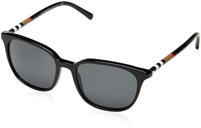 Burberry - Gafas de sol Wayfarer BE 4144 para hombre, 300187 ...