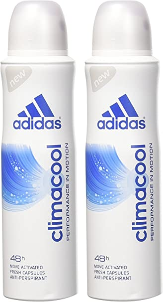 Adidas Adipower, Desodorante Spray Mujer, 150 ml, pack de 3
