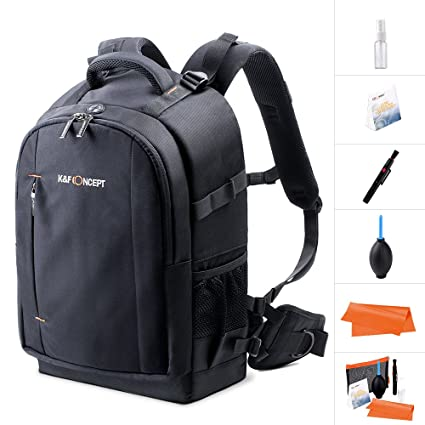b59f6838af K F Concept Camera Backpack Rucksack Waterproof with Rain Cover for 13.3    laptop for Men