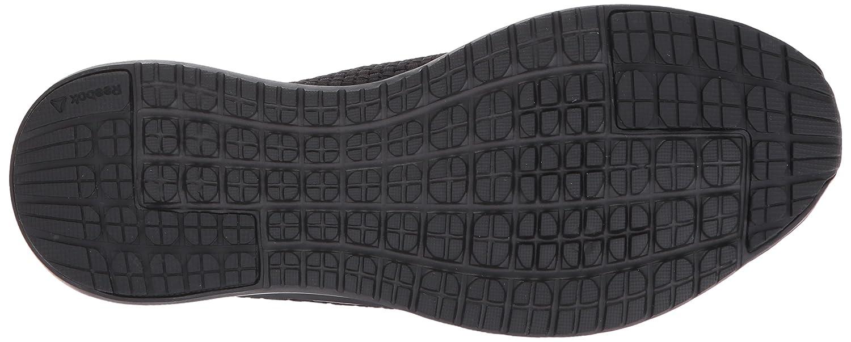 Reebok Women's Plus Runner Woven Sneaker B01MU7BXJB 8.5 B(M) US|Black/Matte Silver
