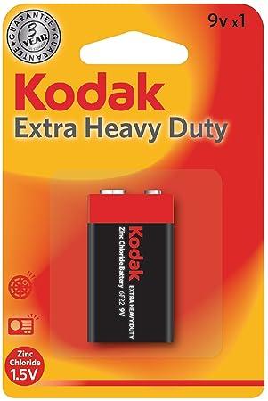 Kodak LR61 - Pila, 9V: KODAK: Amazon.es: Electrónica