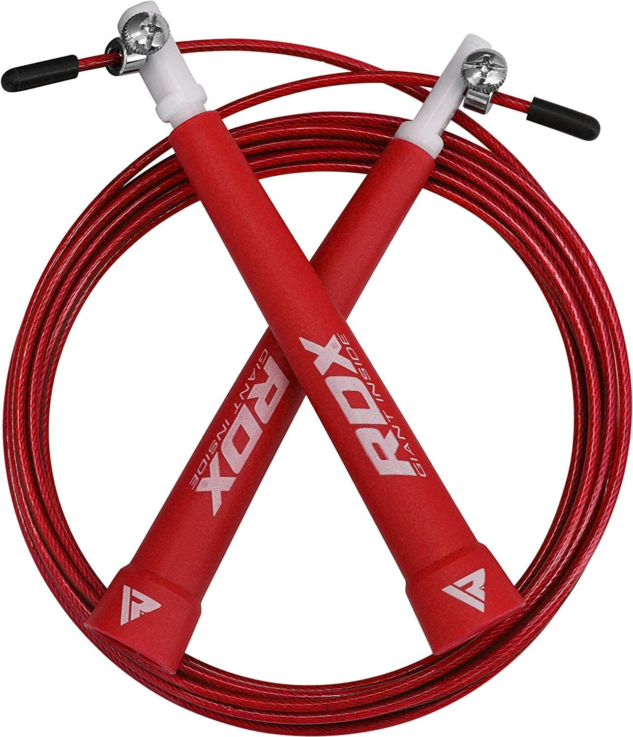 RDX Skipping Rope Speed Gymnastics Fitness Lose Weight Adjustable Gym PVC Jump Exercise MMA Boxing Jumping Cable Metal Workout Training