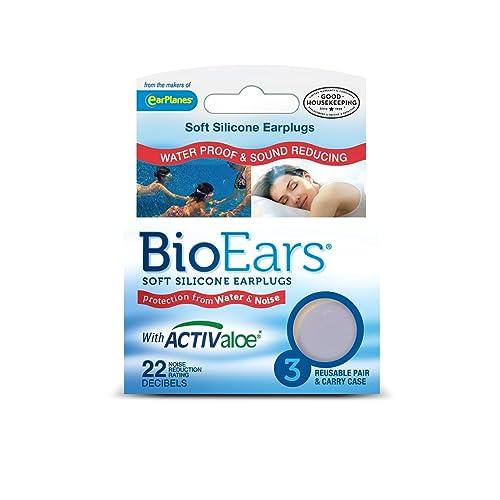 BioEars  : des bouchons d'oreille pour grands nageurs