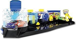 Motormax Twisters Colour Change Car Wash Playset