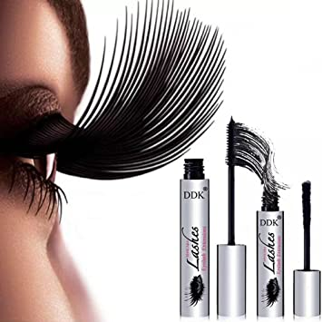 4D Mascara Suit DDK Silk Fiber Lash Mascara Eyelashes Long Extension 100% Authentic