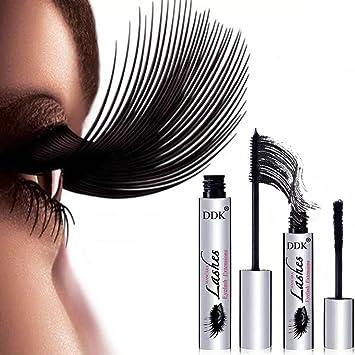 4D Mascara Suit DDK Silk Fiber Lash Mascara Eyelashes Long Extension 100% Authentic