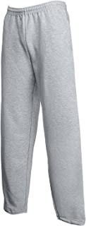 Fruit of the Loom Classic 80/20 open leg sweatpants Heather Grey XL