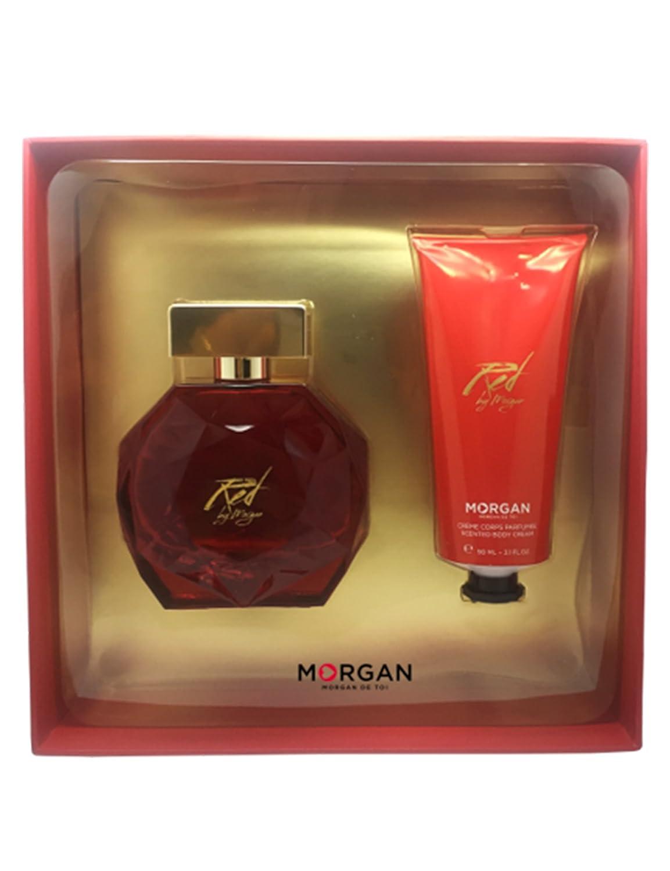 Morgan Red by Morgan estuche Perfume/crema para cuerpo ...