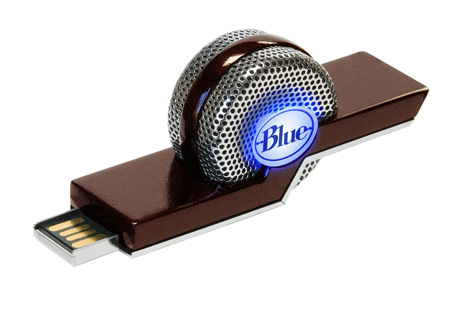 Blue Microphones TIKI Dual-Mode Compact USB Condenser Microphone, Cardioid 1998