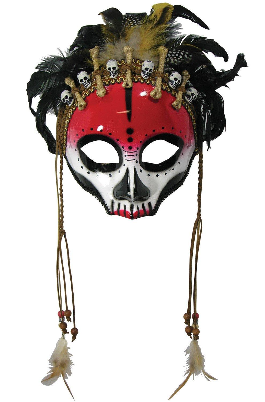 Forum Novelties Voodoo Face Mask Costume Accessory