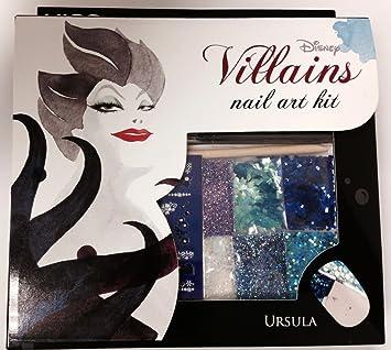 Amazon Disney Villains Nail Art Kit Ursula Nail Art For