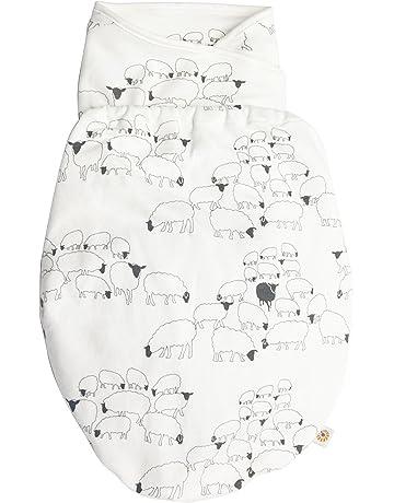 Ergobaby Arrullo Bebe Recien Nacido de Algodon para Verano y Invierno Diseño Oveja Saco de Dormir