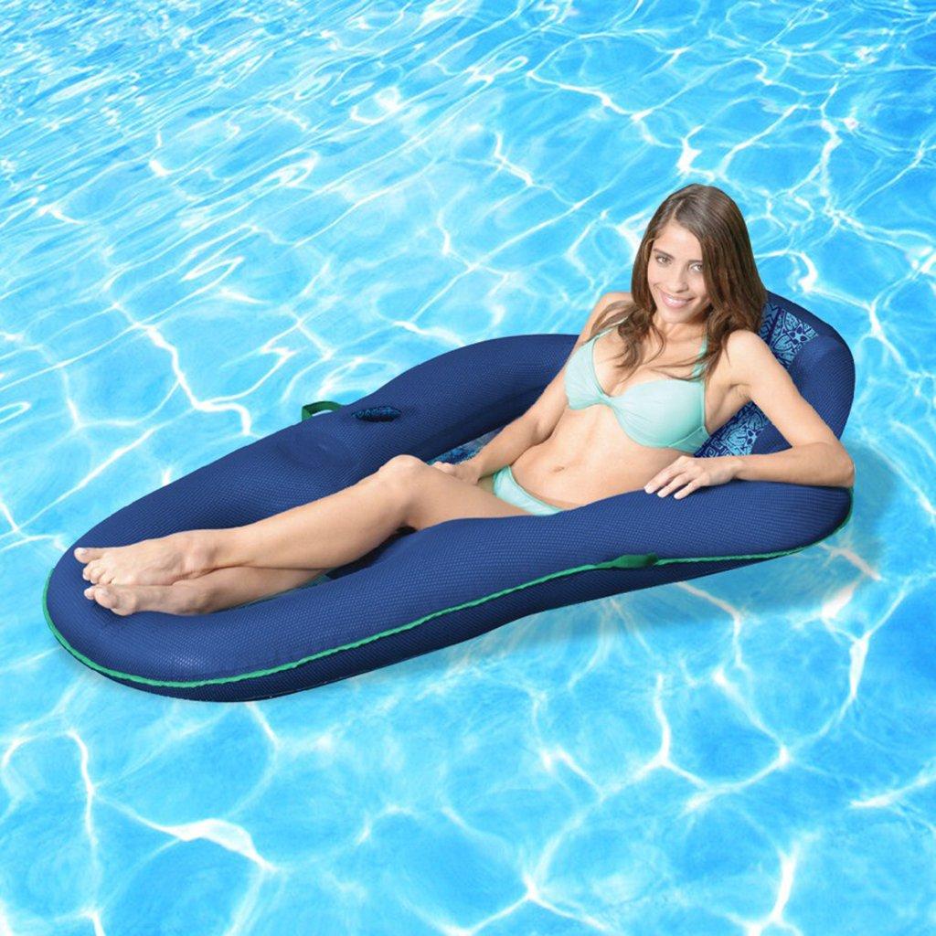 Water Lounge - Sillón Reclinable Comfort De Tela Premium, Flotador De Piscina para Niños Y Adultos: Amazon.es: Deportes y aire libre