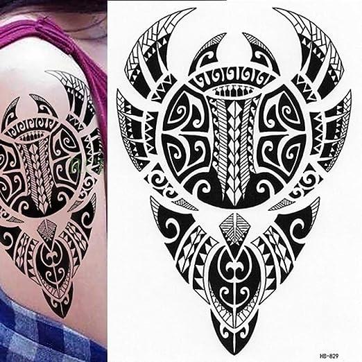 Modeganqing Tatuaje polinesio de 5 Piezas, Sol, Tierra, Hombres ...
