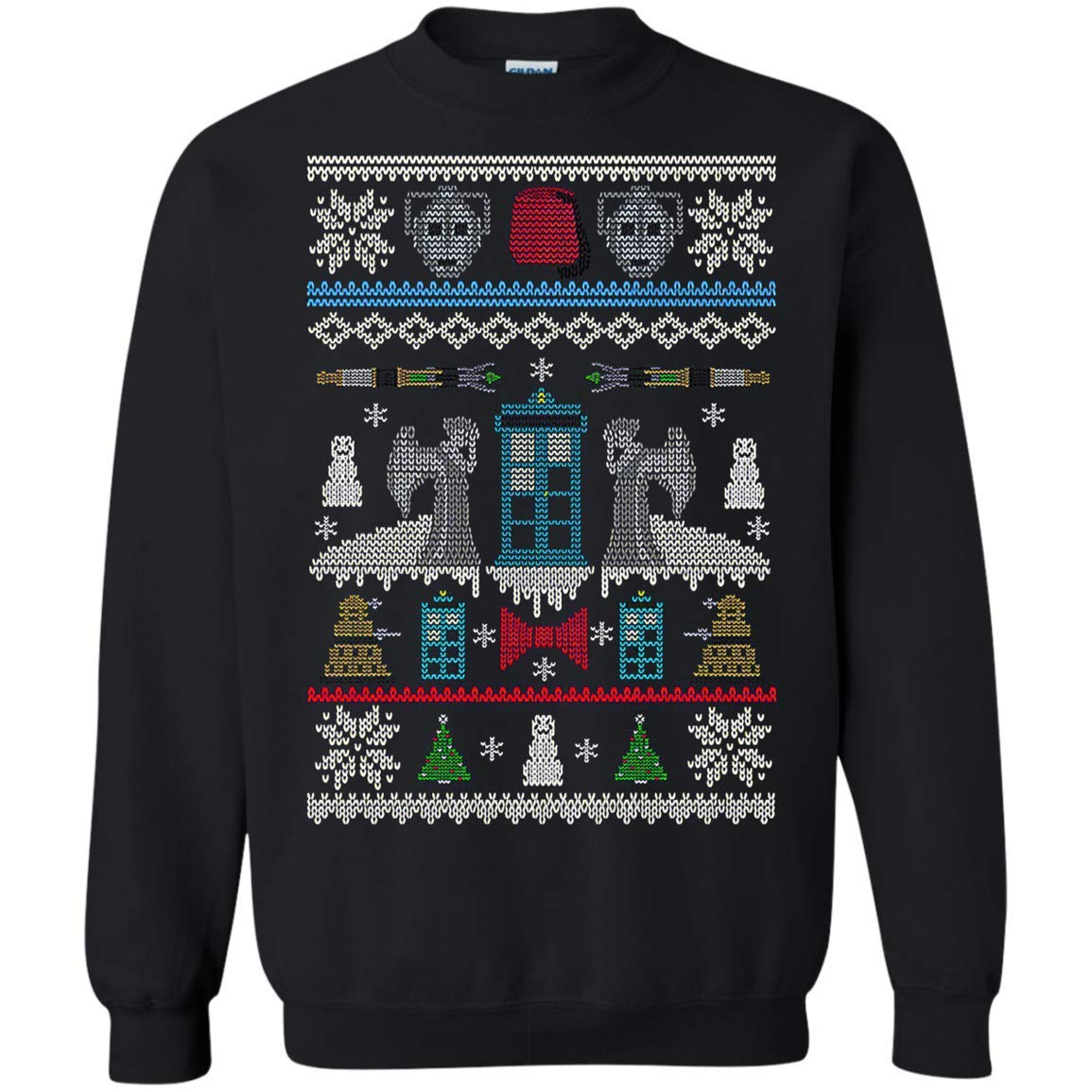 Whos Sweater is This Doctor Who Ugly Sweater Perfect Christas Gifts Crewneck Pullover Sweatshirt