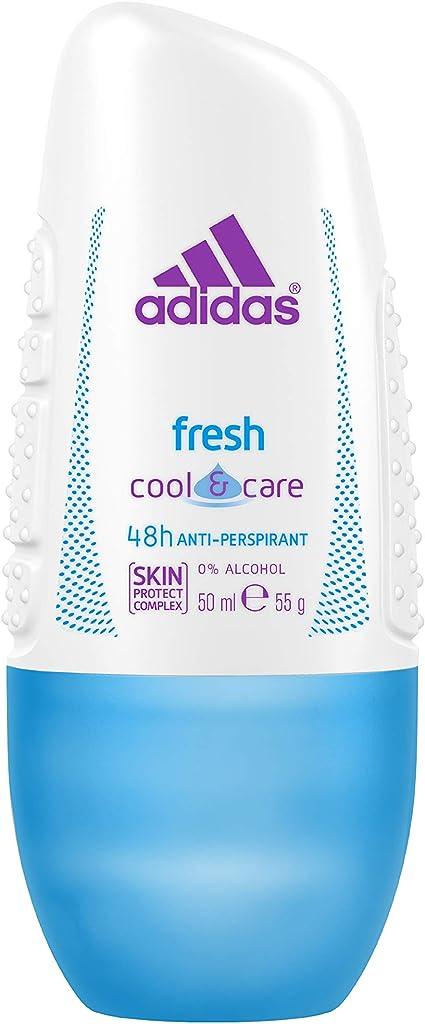 Adidas Fresh Desodorante Roll-On Para Mujer 50 ml - Pack de 6 ...