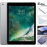Apple iPad 9.7 Retina Display with Saiborie 49 Value Bundle, 2017 5th Gen 32GB, M9, Wi-Fi, MIMO, Bluetooth, Apple iOS 10 (32GB, Space Gray)