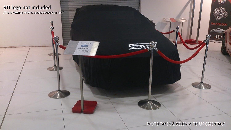 Amazon.es: MP Essentials - Cubierta de automóvil completa, tela transpirable y suave, transpirable para interiores y garajes - ROJA (mediana - 446 x 139 x ...