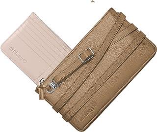 minibag Damen Umhängetasche Leder Clutch Geldbörse Made in Europe